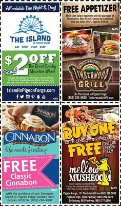 Coupons for gatlinburg tn