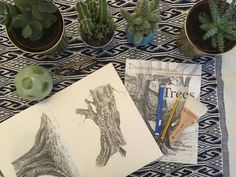Sarah J. Drawing Trees, Sarah J, Book Reviews, Outline, Things To Think About, The Past, Workshop, Sketches, Journal