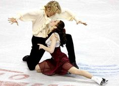 Meryl Davis and Charlie White USA olympic silver medalists in ice dancing!