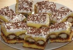 11 olcsó babapiskótás sütemény - ellenállhatatlanul jók   NOSALTY Hungarian Desserts, Hungarian Cake, Hungarian Recipes, Hungarian Food, Cake Cookies, Cupcakes, Nutella, Oreo, Cake Decorating