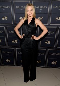 Pin for Later: All Your Favorite Style Stars Went HAM Shopping Balmain x H&M Last Night  Menu Suvari