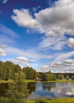Soomaa National Park in  Estonia.