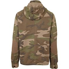 mens stone camouflage hooded jacket - jackets - coats / jackets - men - River Island River Island, Camouflage, Military Jacket, Hooded Jacket, Hoods, Stone, Coat, Jackets, Men