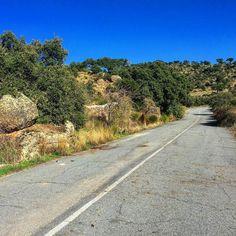 Abandonado tramo de la N-630 al norte de #Plasencia. #lascarreterasdeExtremadura