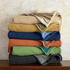 Washable Wool Blanket and Throw --The company store.com