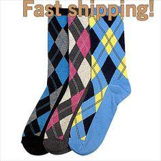 12 Pairs Lot Mens Women Argyle Dress Socks Design Multi-Color Fashion Size 9-11 Color Fashion, Men's Fashion, Designer Socks, Dress Socks, Pairs, Sunset, Mens Tops, Life, Ebay