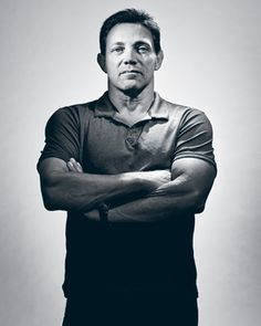Jordan Belfort, the Real Wolf of Wall Street. I can't wait to watch the movie and we have been watching his training sessions. He is amazing! Inspirational not just in the business world but in general.