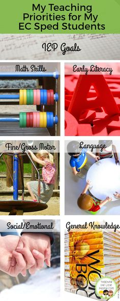 My Teaching Priorities for My Early Childhood Special Education Students::Teaching The Little People