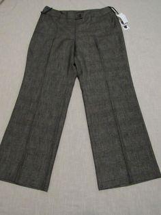 Anne Klein Women's Stretch  Career,Dress, Plaid   Pants Size 16W #AnneKlein #DressPants