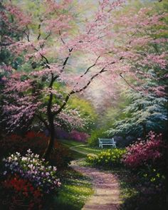 'Spring Blossoms' by Charles White