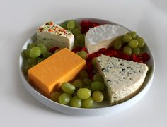 Cheese and fruit make for a great combination!