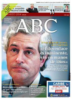 La portada de ABC del sábado 22 de marzo