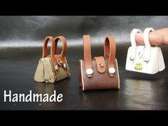 (2097) DIY Miniature Realistic Bags #1 - Handmade Dollhouse - YouTube