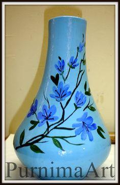 PurnimaArt: My Pot Painting....