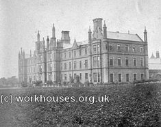 Leeds Moral and Industrial Training Schools from the east, © Peter Higginbotham. Victoria Reign, Leeds City, Training School, South Yorkshire, Barnsley, Home Photo, British History, Old Pictures, England