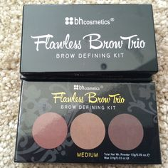 BH Cosmetics Accessories - BH cosmetic Flawless Brow Trio