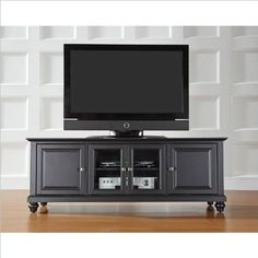 Crosley Furniture Cambridge 60-Inch Low Profile TV Stand, Black http://suliaszone.com/crosley-furniture-cambridge-60-inch-low-profile-tv-stand-black/