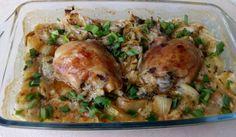 Невероятно пилешко с лук на фурна - Рецепта. Как да приготвим Невероятно пилешко с лук на фурна. Кликни тук, за да видиш пълната рецепта.