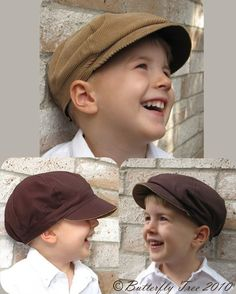 This is the pattern for the boys' hats for the wedding.