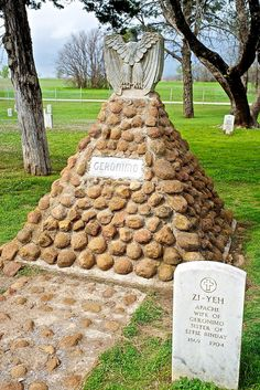 Geronimo's Grave, Fort Sill - I can still remember Grandpa taking me here when I was little.