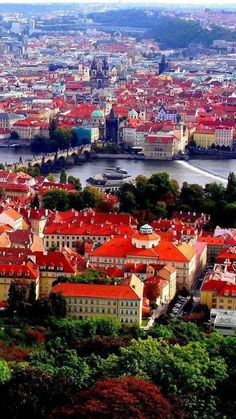 Prague - the capital and largest city in Czech Republic