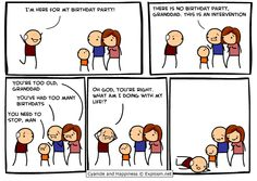 You can NEVER have too many birthdays
