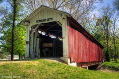 Vermont Covered Bridge, Indiana