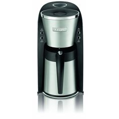 KRUPS KT600 Silver Art Collection Thermal Carafe Coffee Maker with