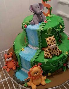 Jungle Safari cake topper set by dallas2001 on Etsy