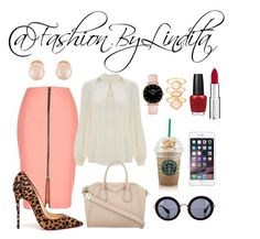 saturday casual look by leidylindita on Polyvore featuring polyvore fashion style Temperley London River Island Christian Louboutin Givenchy Kenneth Jay Lane Monsoon Miu Miu OPI clothing