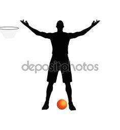 Descargar - Jugador de baloncesto — Ilustración de stock #79951638
