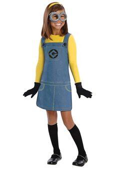 Despicable Me 2 Girls Minion Costume