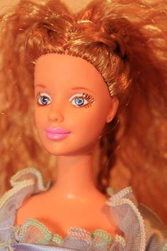 Strawberry Blond Full Head Reroot/Repaint Mackie Barbie Doll OOAK #Mattel