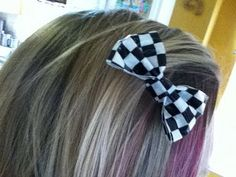 How to make a Barette Bow from Duct Tape