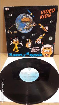 VIDEO KIDS. THE INVASION OF THE SPACEPECKERS. LP / DIANA - 1985 / MBC. ***/***