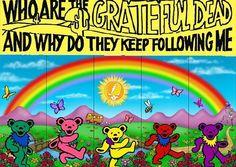 Grateful Dead envelope art