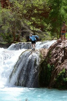 Havasu Falls in Grand Canyon - Just one of many waterfalls...