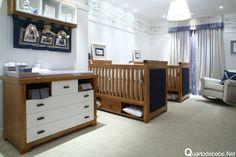 quarto de bebê azul marinheiro
