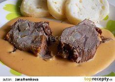 Vepřová špikovaná plec nadivoko recept - TopRecepty.cz No Cook Meals, Pork, Food And Drink, Beef, Treats, Cooking, Recipes, Kebabs, Meat