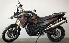 Casey Gunschel and Staubwolke's Custom Leather BMW F800GS | InsideHook