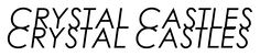 Crystal Castles Logo