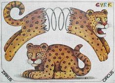 Diseñador: Olbinski Rafal   título del cartel: Cyrk Tygrys sprezyna   año de cartel: 1981   nacionalidad cartel: Polaco   técnica de impresión: offset   Tamaño en cm: 66x92,5 pulgadas: 26.4 x 36.8   Asunto: circo / cyrk | © RAFAL OLBINSKI