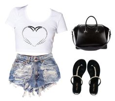 Follow your heart by maleah06 on Polyvore featuring polyvore, fashion, style, Miss KG and Givenchy