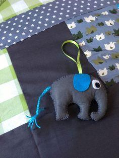 felt elephant as present