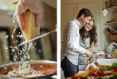 Engagement session- cooking! Holy smokes this is way too cute!