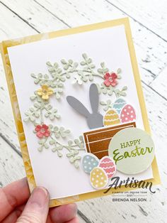Easter Religious, Punch Art, Soft Colors, Stampin Up Cards, Cardmaking, Holiday Cards, Greeting Cards, Paper Crafts, Crafty