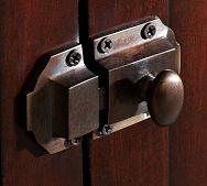 sweet door latch!