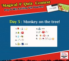 """""""Magical 9"""" Contest - Guess the names of sweets to win exciting prizes.."""