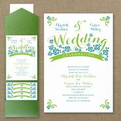 Day of Happiness - Pocket Invitation   Simply Inviting, LLC