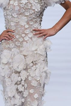 Elie Saab   Fall 2009 Couture Collection   Style.com